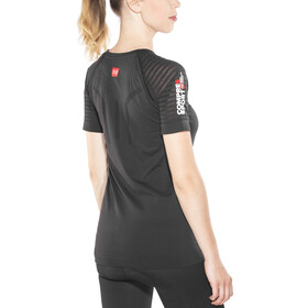 Compressport SwimBikeRun Training T-paita Naiset, black